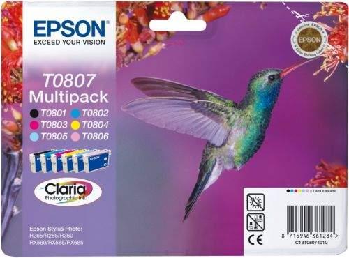 Epson T0807, multipack