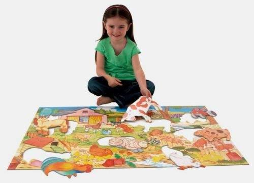 Galt: Velké podlahové puzzle – na farmě