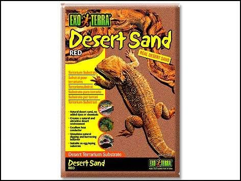 HAGEN Písek pouštní červený 4,5kg (107-PT3105)