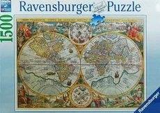 RAVENSBURGER Historická mapa 1594 1500d