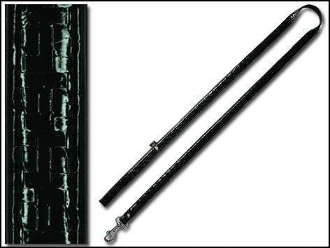 HAGEN DogIT Milano koženkové černé M (104-0736)