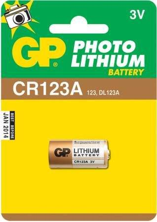 GP BATERIE Baterie GP CR123A - 1ks