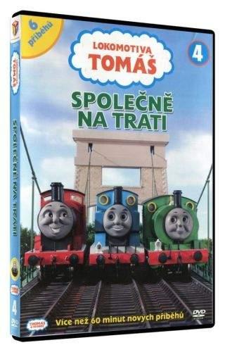 Lokomotiva Tomáš - Společně po trati DVD