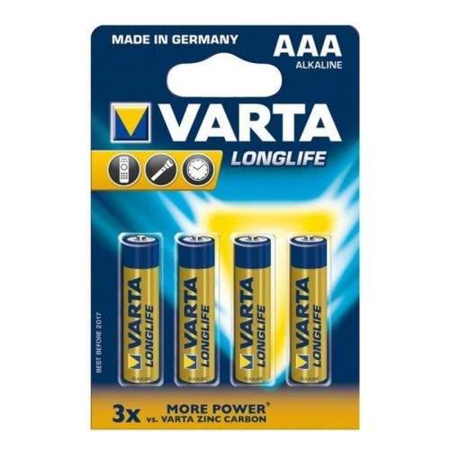 VARTA LongLife AAA 1100 mAh, 4ks - 04103 101414