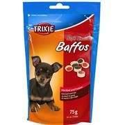 TRIXIE Soft Snack BAFFOS - mini kolečka hovězí, dršťky 75 g