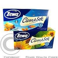SCA HYGIENE PRODUCTS, Kapesník papírový 9x10ks Zewa Soft&Clean 2800