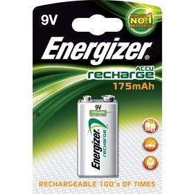ENERGIZER BAT NiMH HR22 175 mAh 1x9V