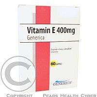 GENERICA Vitamin E 400 mg Generica cps.60