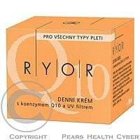 RYOR denní krém s koenzymem Q 10 a UV filtr.50ml