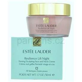 Estee Lauder Resilience Lift noční hydratační krém pro všechny typy pleti (Night Firming/Sculpting Face and Neck Creme) 50 ml