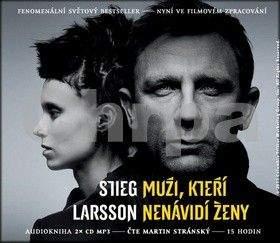 Stieg Larsson: Muži, kteří nenávidí ženy - Milénium 1 - 2CD mp3