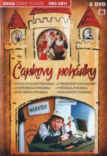 DVD Čapkovy pohádky - 5 DVD