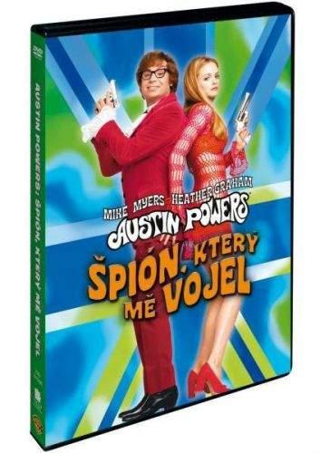 Magic Box Austin Powers: Špion, který mě vojel (MikeMyers) (DVD) DVD