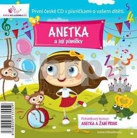 Milá zebra Anetka a její písničky