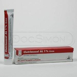 Clotrimazol AL mast 1 % 20 g