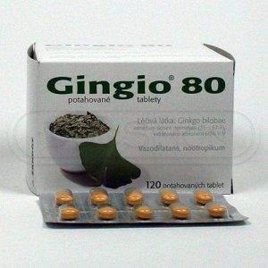 Gingio 80 mg 120 tablet