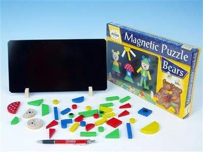 Detoa Magnetické puzzle Medvědi 12907
