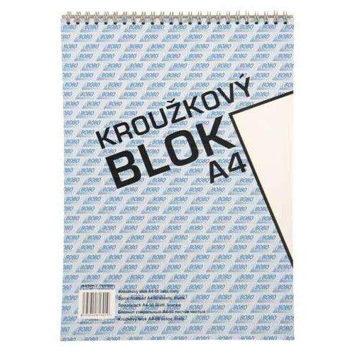 Bobo Kroužkový blok A4 prázdný