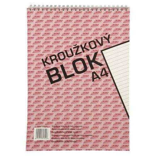 Bobo Kroužkový blok A4 linky