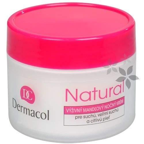 Dermacol Výživný mandlový noční krém Natural 50 ml