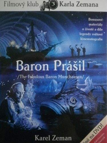 Zeman Karel: DVD Baron Prášil