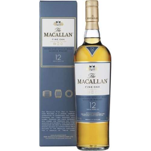 MACALLAN MALT WHISKY 12 let 0,7 L