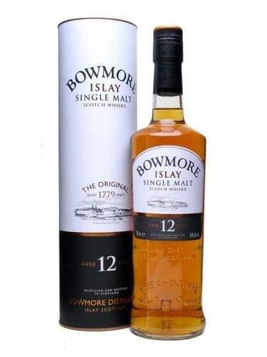 BOWMORE SINGLE MALT WHISKY 12 let 0,7 L