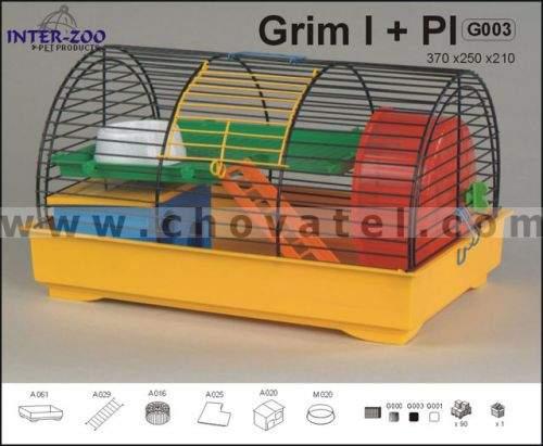 Inter-zoo GRIM I klec pro hlodavce 37x25x21 cm