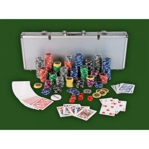 OEM Poker Set - 500 laserových žetonů