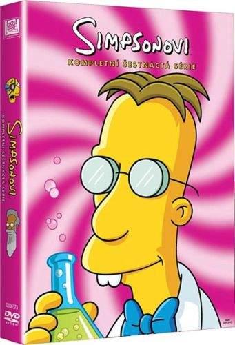 Simpsonovi Komplet 16. sezóna 4 DVD