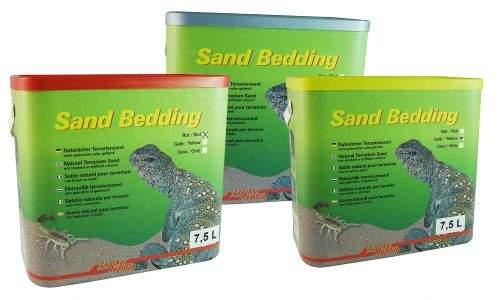 Lucky Reptile Sand Bedding červený s jílem 7,5 l