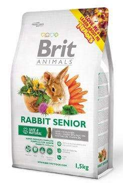 BRIT Animals RABBIT SENIOR Complete 1,5 kg