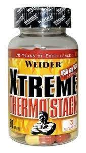 Weider Xtreme Thermo Stack 80 kapslí