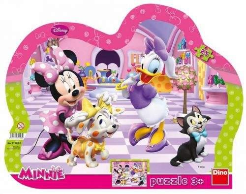 Minnie & Mazlíčci - tvarované puzzle 25
