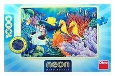 Život pod mořem - puzzle neon 1000 dílků