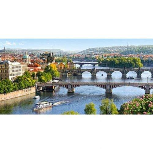Castorland Praha - Mosty přes Vltavu 4000 dílků