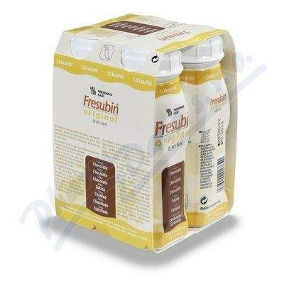 Fresubin original s čokoládovou příchutí 4x200 ml