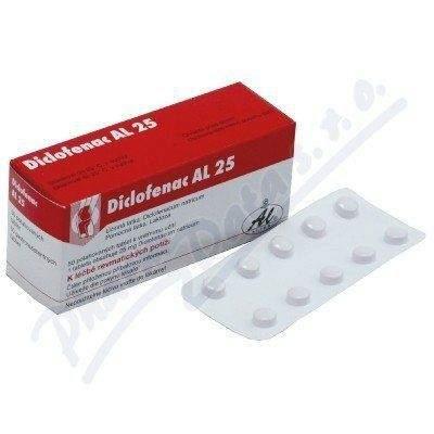 Diclofenac AL 25 tablet