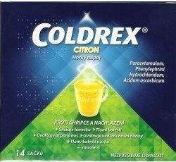 Coldrex horký nápoj Citron 14 sáčků