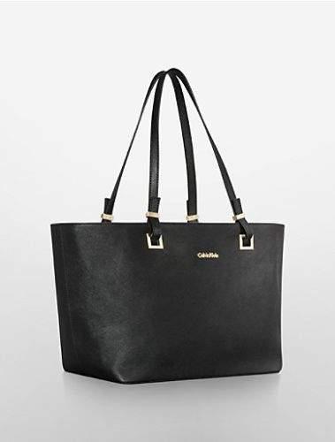 Calvin Klein Scarlett Saffiano Leather Tote kabelka