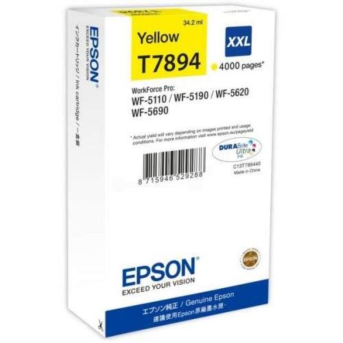 Epson C13T789440 XXL žlutá