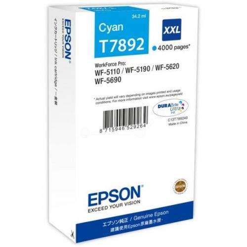 Epson C13T789240 XXL modrá