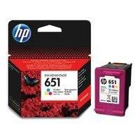 HP 651, C2P11AE barevná