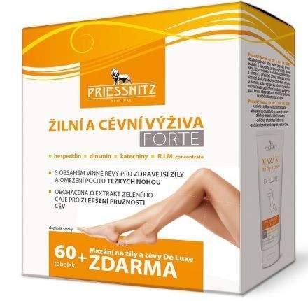Priessnitz Žilní a cévní výživa FORTE 60 tobolek