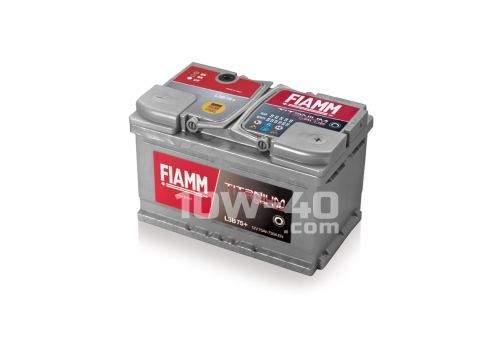 FIAMM Titanium Plus 730A 12V 75Ah
