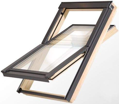 Toso dřevěné střešní okno s mikroventilací