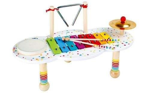 Legler Hudební muzikální stoleček s puntíky