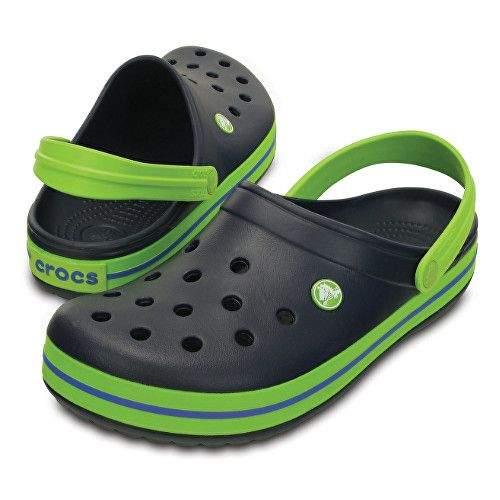 Crocs Crocband Clog Navy/Volt boty