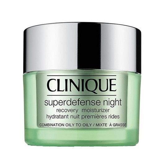 Clinique Noční hydratační krém pro smíšenou až mastnou pleť Superdefense 50 ml