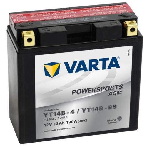 Varta YT14B-4 / YT14B-BS